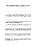 """Báo cáo nghiên cứu khoa học """" Nghiên cứu hợp tác khu kinh tế Vịnh Bắc Bộ Quảng Tây (Trung Quốc) và hành lang kinh tế Lạng Sơn - Hà Hội - Hải Phòng - Quảng Ninh (Việt Nam) """""""