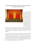 """Báo cáo nghiên cứu khoa học """" Sự nhất quán phát triển kinh tế thị trường XHCN trong xây dựng xã hội hài hoà của Trung Quốc và đổi mới của Việt Nam """""""