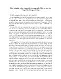 """Báo cáo nghiên cứu khoa học """" Liên kết phát triển vùng miền ở trung quốc Nhìn từ hợp tác Vùng Chu Giang mở rộng """""""
