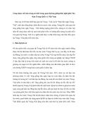 """Báo cáo nghiên cứu khoa học """" Cùng nhau viết nên trang sử mới trong quan hệ láng giềng hữu nghĩ giữa Vân Nam Trung Quốc và Việt Nam """""""