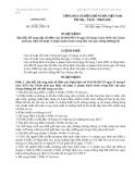 Nghị định số 332011NĐ-CP