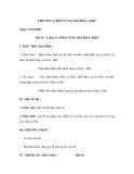 CHƯƠNG 4: PHẢN ỨNG OXI HOÁ - KHỬ