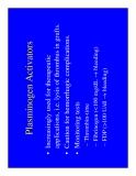 Hematology Overview of Hemostasis - part 4