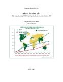 Hiện trạng cây trồng CNSH/ cây trồng chuyển gen trên toàn cầu năm 2007