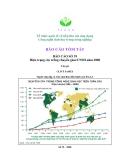 BÁO CÁO SỐ 39 Hiện trạng cây trồng chuyển gien/CNSH năm 2008