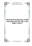 Báo cáo: Giải pháp Marketing nâng cao khả năng cạnh tranh của công ty Tạp phẩm và BHLĐ