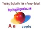 Giáo án điện tử tiểu học: Let's Learn Alphabet