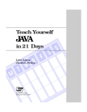 Java Teach Yourself in 21 Days-Laura Lemay Charles L. Perkins
