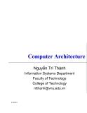 Kiến trúc máy tính-Các thành phần cơ bản của máy tính