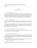 Luật phá sản số 21/2004/QH11 ngày 15 tháng 04 năm 2004