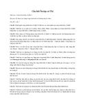 Câu hỏi Ôn tập và Thi Môn học: Công trình Biển cố định 1