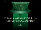 Tiểu luận: Phân tích mô hình S.W.O.T của NHTM cổ phần An Bình