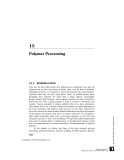 Fundamentals of Polymer Engineering Part 16