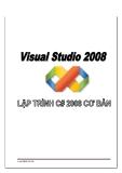 LẬP TRÌNH C# 2008 CƠ BẢN