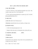 Bài 17: PHẢN ỨNG OXI HOÁ -KHỬ