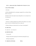 Tiết 42 §. Bài 24: SƠ LƯỢC VỀ HỢP CHẤT CÓ OXI CỦA CLO