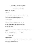 Bài 31: BÀI THỰC HÀNH SỐ 4: Tính chất của oxi, lưu huỳnh