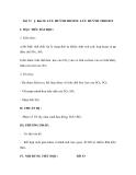 Bài 32: LƯU HUỲNH ĐIOXIT. LƯU HUỲNH TRIOXIT