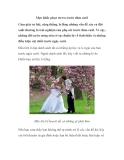 Mẹo khắc phục stress trước đám cưới
