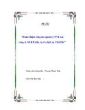 """Đề tài """"Hoàn thiện công tác quản lý NVL tại công ty SXKD đầu tư và dịch vụ Việt Hà """""""