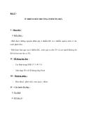 Bài 17 : Ô NHIỄM MÔI TRƯỜNG Ở ĐỚI ÔN HOÀ