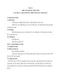 Tiết 13 THỰC HÀNH SỰ PHÂN BỐ LỤC ĐỊA VÀ ĐẠI DƯƠNG TRÊN BỀ MẶT TRÁI