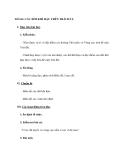 Tiết 26: CÁC ĐỚI KHÍ HẬU TRÊN TRÁI ĐẤT