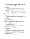 Bài 2. PHƯƠNG TRÌNH QUY VỀ PHƯƠNG TRÌNH BẬC NHẤT, BẬC HAI. (3 tiết)