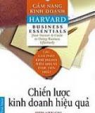 Chiến Lược Kinh Doanh Hiệu Quả - Đại Học Harvard
