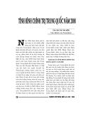 """Báo cáo nghiên cứu khoa học """" tình hình chính trị trung quốc năm 2008 """""""