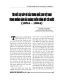 """Báo cáo nghiên cứu khoa học """" Tìm hiểu sự giúp đỡ của Trung Quốc cho Việt Nam trong những năm đầu kháng chiến chống mỹ cứu nước 1954 - 1964  """""""