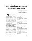 """Báo cáo nghiên cứu khoa học """" quan niệm về Nam Tào – Bắc Đẩu ở Trung Quốc và Việt Nam """""""