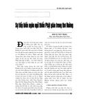 """Báo cáo nghiên cứu khoa học """" Sự tiếp biến ngôn ngữ thiền Phật giáo trong thơ Đường """""""