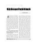 """Báo cáo nghiên cứu khoa học """" Mấy đặc điểm của quan chế Trung Quốc thời phong kiến """""""
