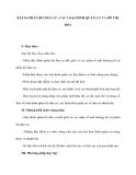 BÀI 24: PHÂN BỐ DÂN CƯ, CÁC LOẠI HÌNH QUẦN CƯ VÀ ĐÔ THỊ HÓA