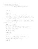 BÀI 8: TÁC ĐỘNG CỦA NỘI LỰC DẪN ĐẾN ĐỊA HÌNH BỀ MẶT TRÁI ĐẤT