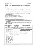 TIẾT 60: TÍNH CHẤT ĐƯỜNG TRUNG TRỰC CỦA ĐOẠN THẲNG
