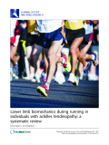 "Báo cáo y học: ""Lower limb biomechanics during running in individuals with achilles tendinopathy: a systematic review"""