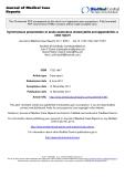 """báo cáo khoa học: """"Synchronous presentation of acute acalculous cholecystitis and appendicitis: a case report"""""""