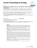 "báo cáo khoa học: ""Treatment of malignant tumors of the skull base with multi-session radiosurgery"""