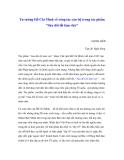 """Báo cáo nghiên cứu khoa học """" Tư tưởng Hồ Chí Minh về công tác cán bộ trong tác phẩm """"Sửa đổi lối làm việc"""" """""""