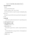 Bài : 34 CÁC HỆ THỐNG SÔNG CHÍNH Ở NƯỚC TA