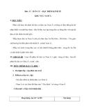 Bài : 11 DÂN CƯ – ĐẶC ĐIỂM KINH TẾ KHU VỰC NAM Á
