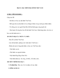Bài 28 : ĐẶC ĐIỂM ĐỊA HÌNH VIỆT NAM