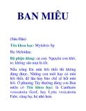 BAN MIÊU