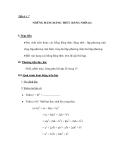 Tiết 6 + 7 NHỮNG HẰNG ĐẲNG THỨC ĐÁNG NHỚ (tt)