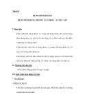 Tiết 8+9 DỰNG HÌNH THANG DỰNG HÌNH BẰNG THƯỚC VÀ COMPA - LUYỆN TẬP