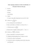 Ứng dụng của đạo hàm vào khảo sát sự biến thiên và vẽ đồ thị hàm số.