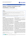 """Báo cáo y học: """"Steinert's syndrome presenting as anal incontinence: a case repor"""""""