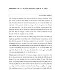 """Nghiên cứu triết học """" NHẬN THỨC VỀ VẤN ĐỀ ĐẢNG VIÊN LÀM KINH TẾ TƯ NHÂN """""""
